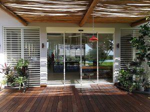 vista esterna di vetrata del nuovo centro benessere